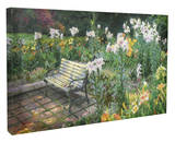 Eternal Springtime Stretched Canvas Print by Thomas Kinkade