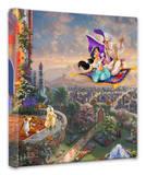 Aladdin Stretched Canvas Print by Thomas Kinkade