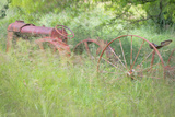 Old Tractor II Photographic Print by Kathy Mahan