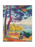 Afternoon at Pardigon Giclee Print by Henri Edmond Cross