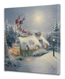 Dash Away All Stretched Canvas Print by Thomas Kinkade