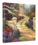 Spring Gate Stretched Canvas Print by Thomas Kinkade
