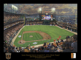 SF Giants, It's Our Time - Black border Pósters por Thomas Kinkade