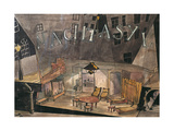 Set Design for 'The Lower Depths' (Nachtasyl) Giclee Print by Edward Suhr