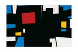 Composition Giclee Print by Mario Ballocco