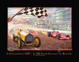 Century of Racing Print by Thomas Kinkade