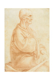 View of an Old Man Seated Giclee Print