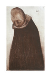 Male Figure with Bowed Head Giclee Print by Eugenio Prati
