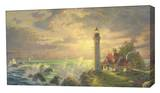 Guiding Light Stretched Canvas Print by Thomas Kinkade