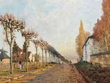 Le Chemin De La Machine Giclee Print by Alfred Sisley