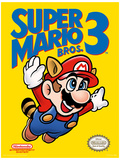 Super Mario Bros. 3 - NES Cover Kunstdruck
