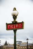 Paris Metro IV Photographic Print by Erin Berzel