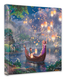 Tangled Stretched Canvas Print by Thomas Kinkade