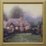 Evening at Merritt's Cottage Posters by Thomas Kinkade