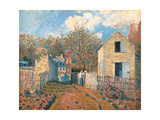 The Village of Voisins (Yvelines) Giclee Print by Alfred Sisley