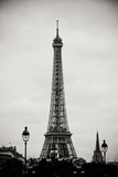 Eiffel Tower BW II Photographic Print by Erin Berzel