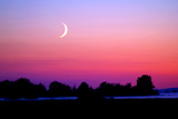 Crescent at Twilight Photographic Print by Douglas Taylor