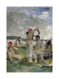 Soldiers at the Camp (Soldati Al Campo) Giclee Print by Demetrio Cosola