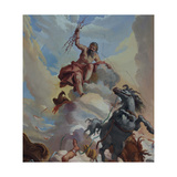 Fall of Phaeton Giclee Print by Mauro Picenardi