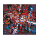 Fire Burning Out Giclee Print by Renato Birolli