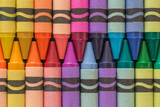 Crayons of a Rainbow I Photographic Print by Kathy Mahan