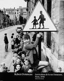 Ecoliers Rue Poster von Robert Doisneau