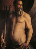 Portrait of Andrea Doria as Neptune Giclee Print by Agnolo Bronzino