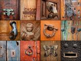 On the Door IV Fotografisk tryk af Kathy Mahan