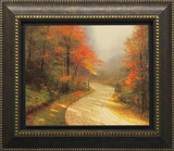 Autumn Lane Prints by Thomas Kinkade