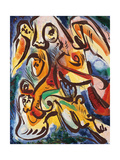 Figures Giclee Print by André Masson
