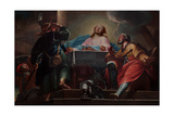 Supper at Emmaus Giclee Print by Nicola Marcola