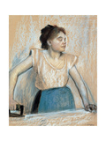 Woman Ironing Giclee Print by Edgar Degas