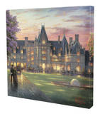 Elegant Evening at Biltmore Stretched Canvas Print by Thomas Kinkade