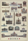 Architettura Roma Poster