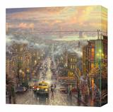 Heart of San Francisco Stretched Canvas Print by Thomas Kinkade