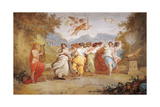 Apollo and the Muses Giclee Print by Giani Felice