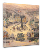 St. Nicholas Circle Stretched Canvas Print by Thomas Kinkade