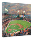 SF Giants, It's Our Time Stretched Canvas Print by Thomas Kinkade