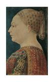 Portrait of Bianca Maria Sforza Giclee Print