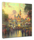 Disneyland 50th Anniversary Stretched Canvas Print by Thomas Kinkade