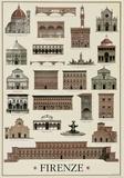 Architettura Firenze - Poster