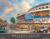 Wrigley Field: Memories and Dreams Prints by Thomas Kinkade