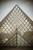 Louvre Pyramid I Photographic Print by Erin Berzel
