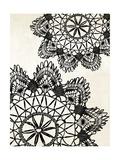 Doilies I Premium Giclee Print by N. Harbick