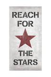 Alcanza las estrellas, en inglés Pósters por N. Harbick