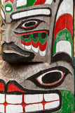 Totem Detail III Photographic Print by Kathy Mahan