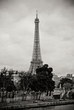 Eiffel Tower BW I Photographic Print by Erin Berzel