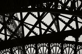 Eiffel Tower Latticework V Photographic Print by Erin Berzel