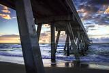 Mercer's Pier II Photographic Print by Alan Hausenflock