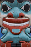 Totem Detail I Photographic Print by Kathy Mahan